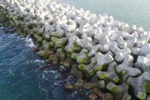 Breakwater Accropodes