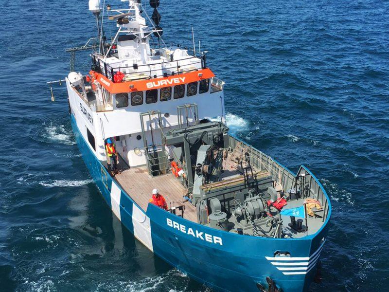 Survey Vessel Breaker