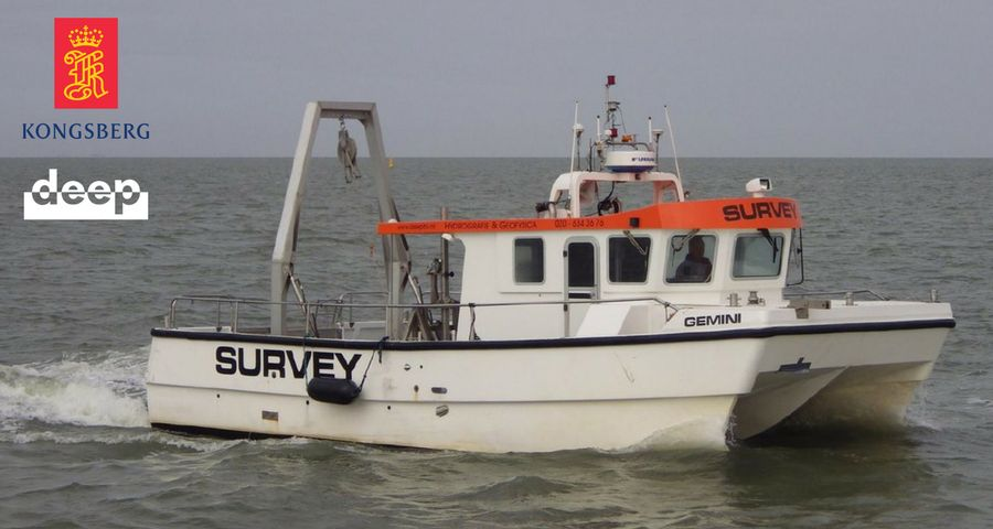 Survey vessel Gemini for Kongsberg
