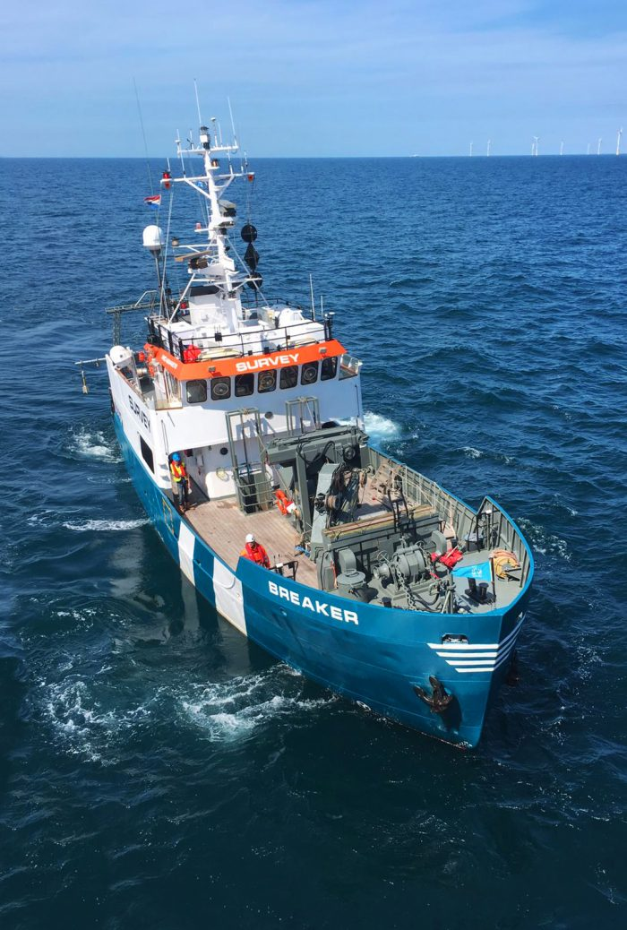 Survey Vessel Breaker