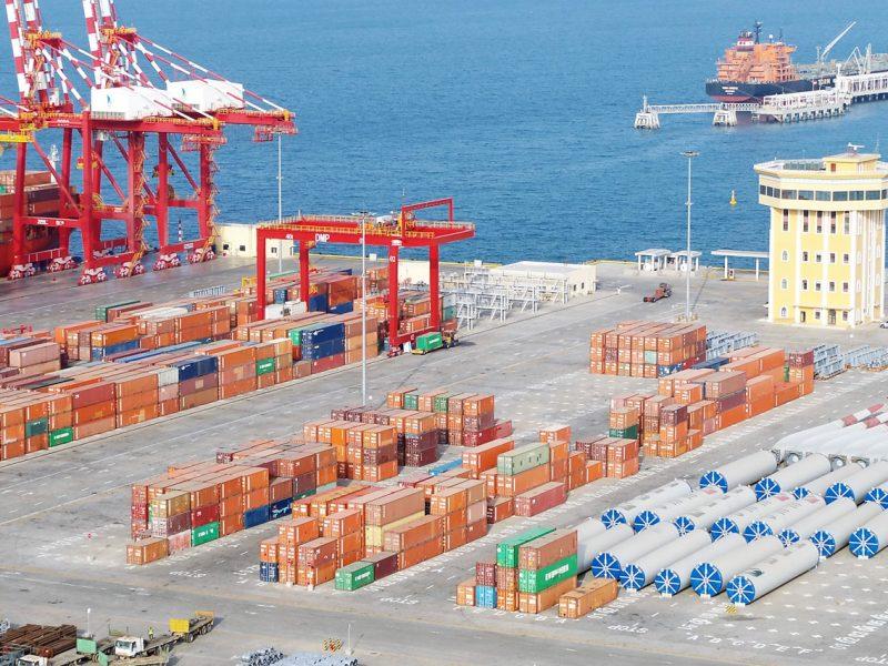 Hydrographic site survey Doraleh Port Djibouti